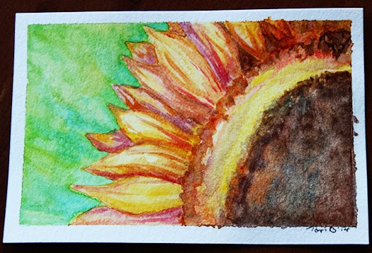 Sunflower by Tori Beveridge