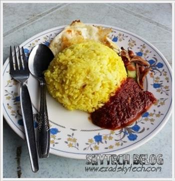 Nasi Lemak Kuning