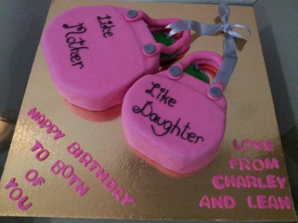 Birthday Cake Images For A Daughter : Mother and Daughter Cake