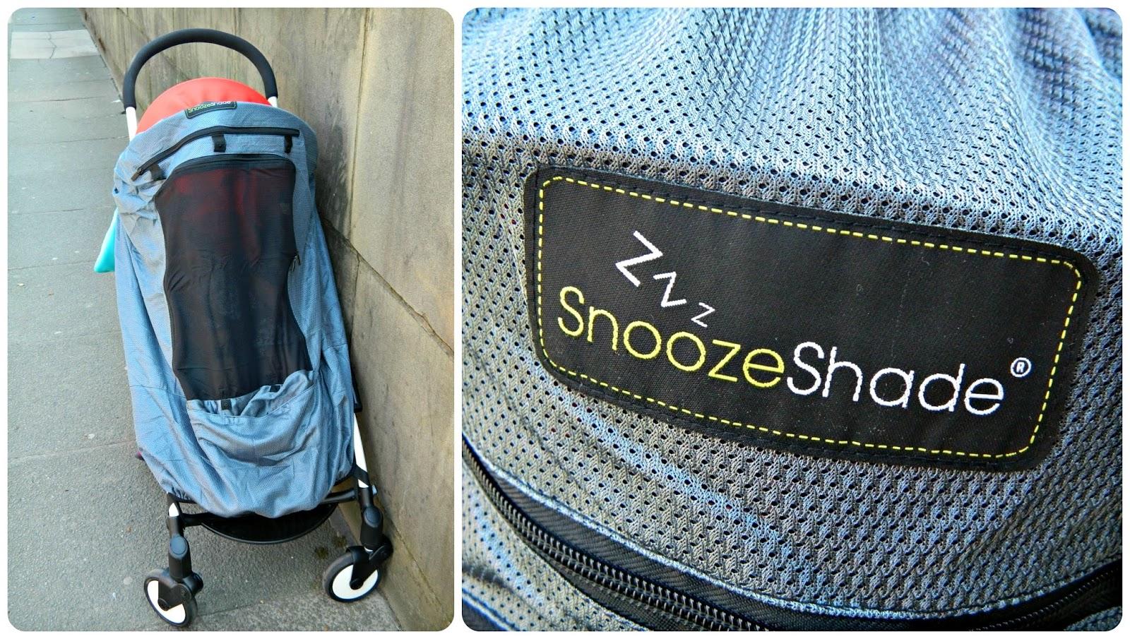 Snoozeshade Plus Deluxe on BabyZen YoYo