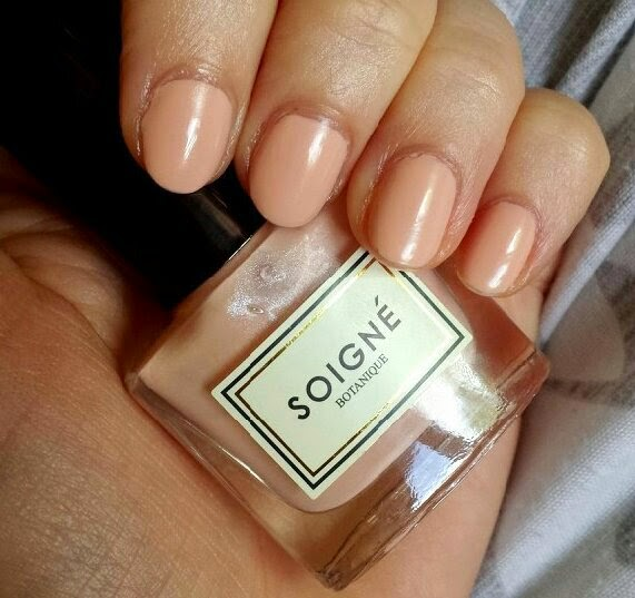 Birchbox May 2014 Harper's Bazaar Soigne Nail Polish in Creme Au Beuree
