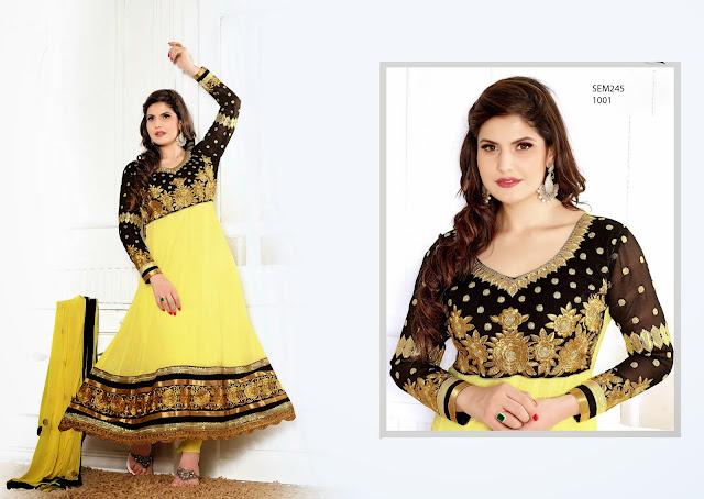 New Arrival Designer Anarkali churidar Salwar Kameez