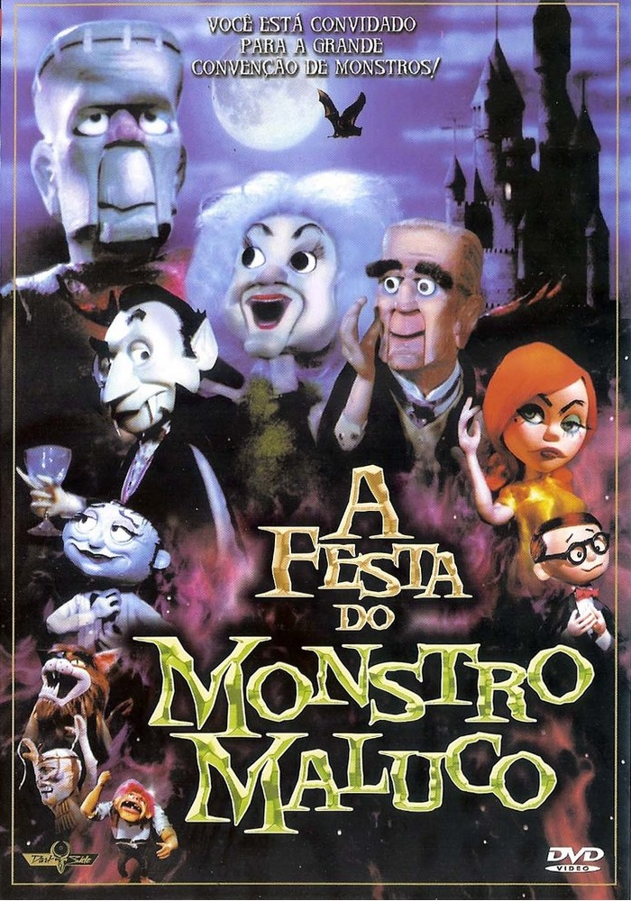A Festa do Monstro Maluco – Dublado