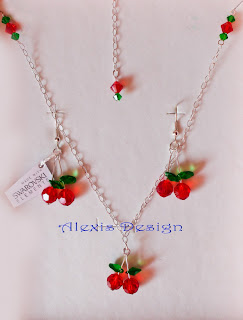 Set Swarovski Cherry Pie
