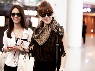SNSD Yuri Tiffany All About Girls Generation in Airport