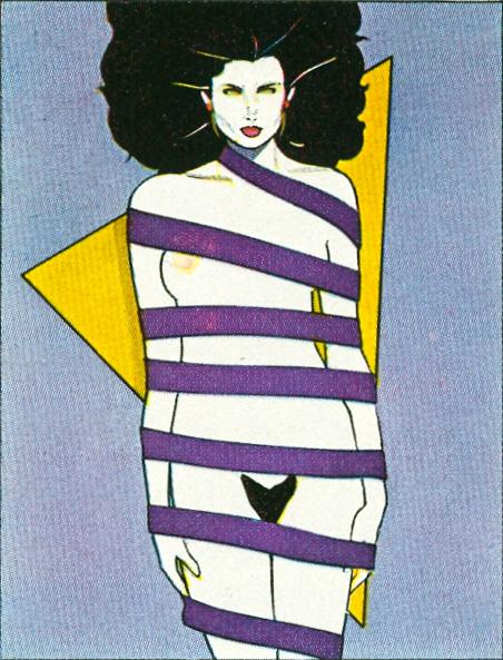 Patrick Nagel Illustrations. Doctor Ojiplatico