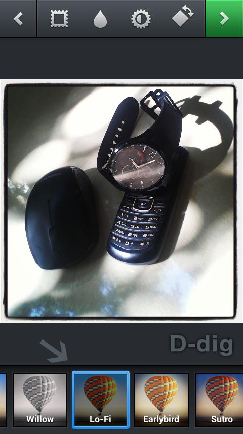 Cara edit foto photo dengan memberi efek foto aplikasi instagram - 3