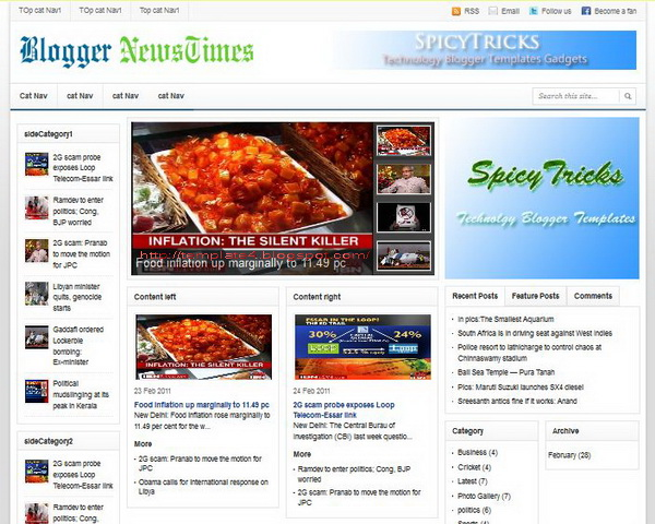 Blogger NewsTimes