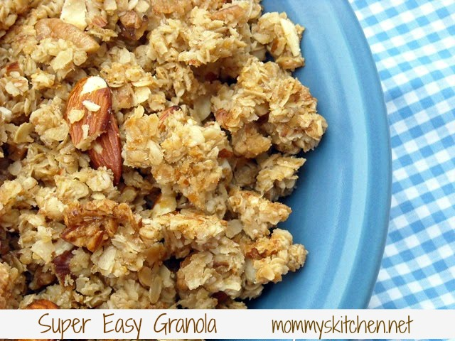 ... Kitchen - Recipes From my Texas Kitchen: Super Easy Homemade Granola