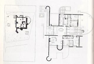 Casa Meier Essex Fells Planta y Sitio