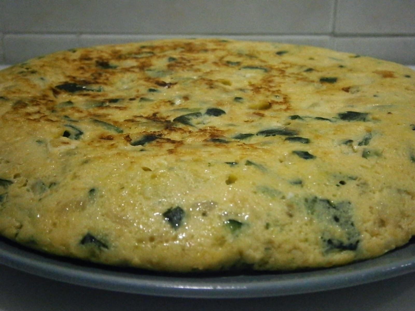 Osukaa is cooking tortilla de calabac n y cebolla - Tortilla de calabacin y cebolla ...