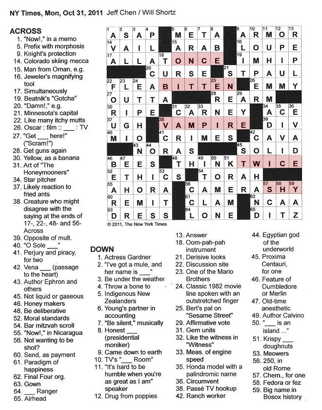 Find Crossword Puzzle Answers Crossword Heaven | Pets World