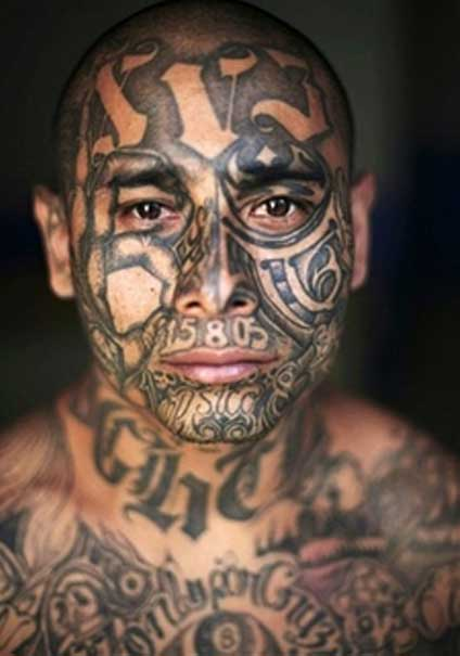 Mexican Gang Tattoos