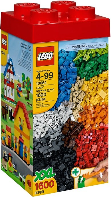 LEGO Creative Tower 10664