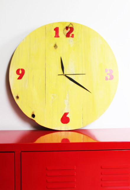 drewniany zegar diy krok po kroku, jak zrobic zegar, mechanizm zegarowy, blog DIY majsterkowanie wnętrza, inspiracje pomysły wykonanie,blogerka wnętrzarska DIY