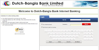 DBBL Internet Banking [Activation][Features][Login][Form]