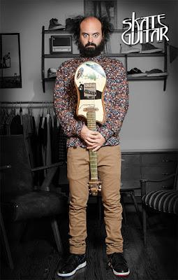 Skate Guitar en #TiendaFitzrovia.