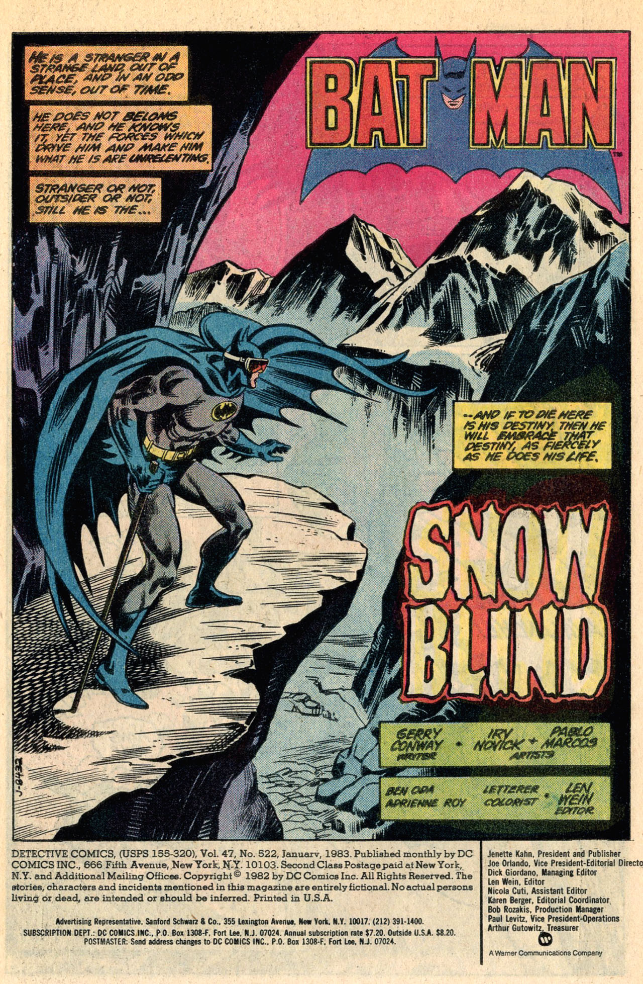 Detective Comics (1937) Issue #522 Page 3