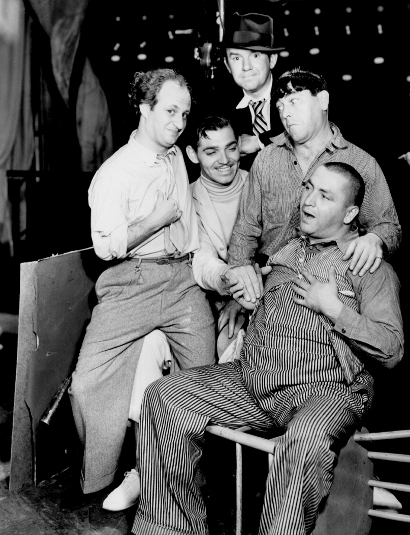 Image result for dancing lady movie images clark gable and three stooges