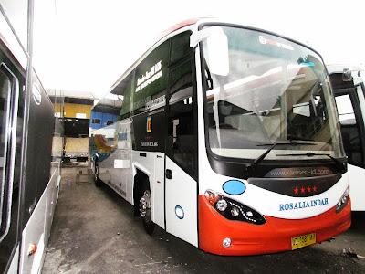 Bus Rosalia Indah terbaru Evonext GT  MB OH 1626
