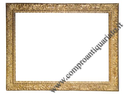 Cornice in legno dorato scolpita parma consulenza per - Valutazione mobili antiquariato ...