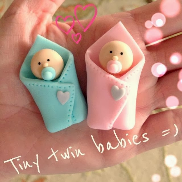 Twin Baby Shower Cake Toppers: Cakes By Dusty: Welcome Charley Ann & Beau Martin