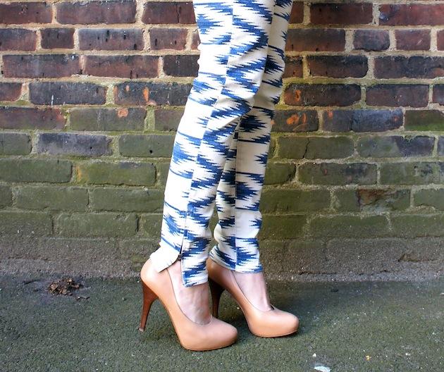 Ralph Lauren Denim and Supply Boston ankle zip jeans