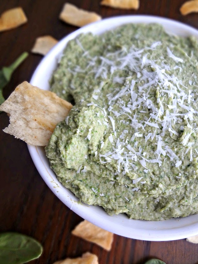 The Cooking Actress: Spinach and Artichoke Hummus