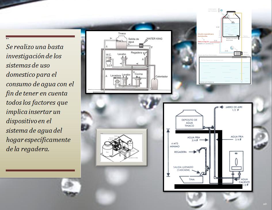 Sistema de ahorro control y medici n de agua for Sistemas de ahorro de agua
