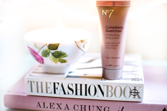 No7 completely quenched body lotion