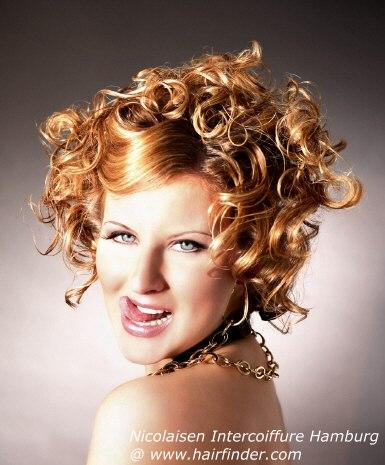 Trendy Frisuren mit Locken 2012-2013