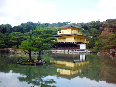 Kinkakuji (Golden Pavilion) di Kyoto