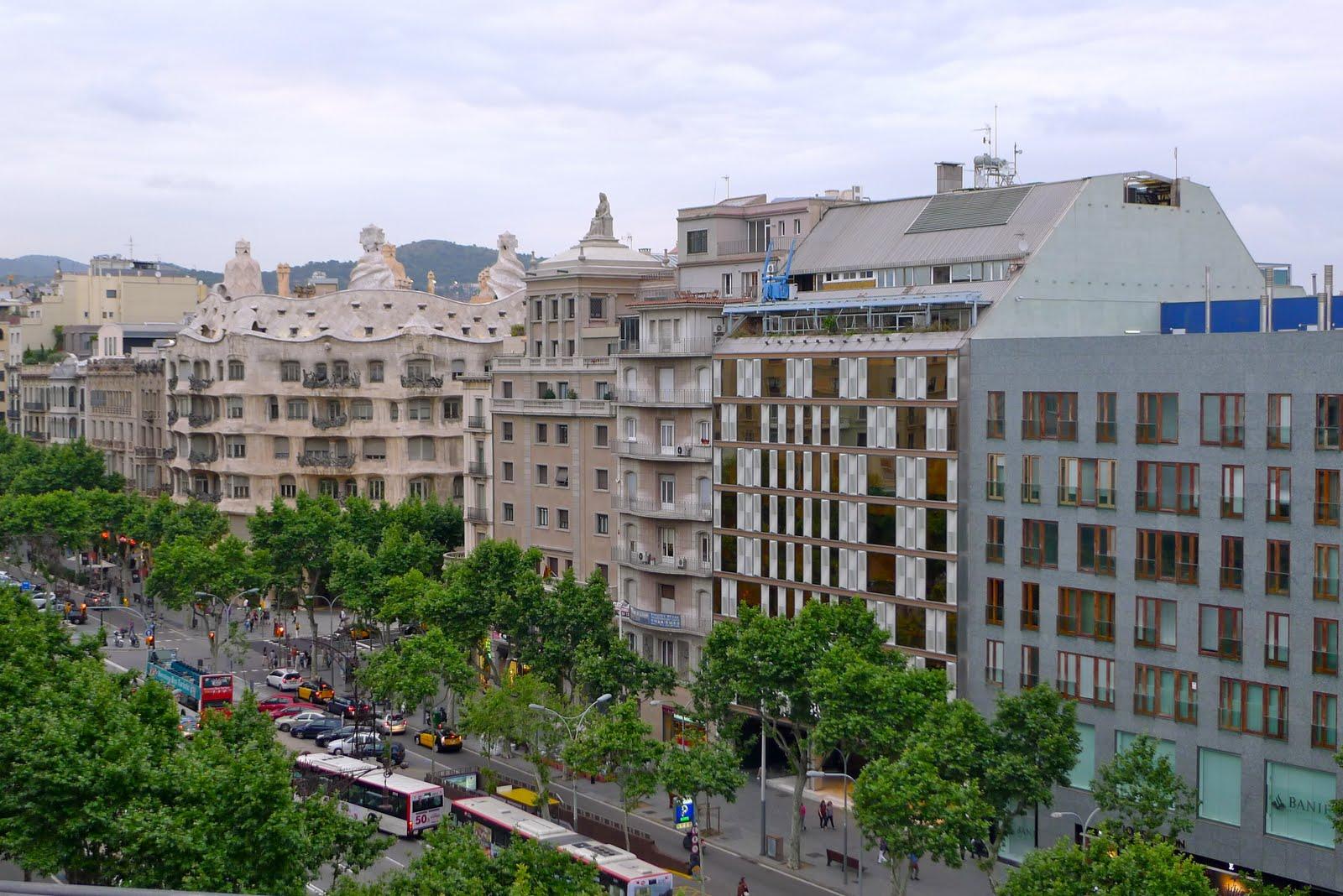 Be in barcelona terraza hotel condes de barcelona for Hotel de paris barcelona