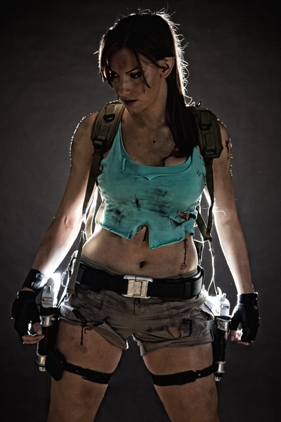 New Lara Croft Cosplay by Jenn Croft
