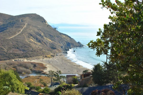 muir beach view