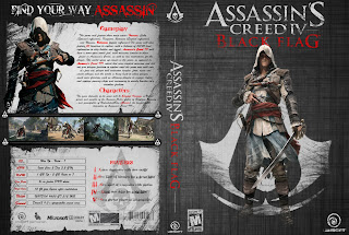 assassins creed black flag new pc dvd cover