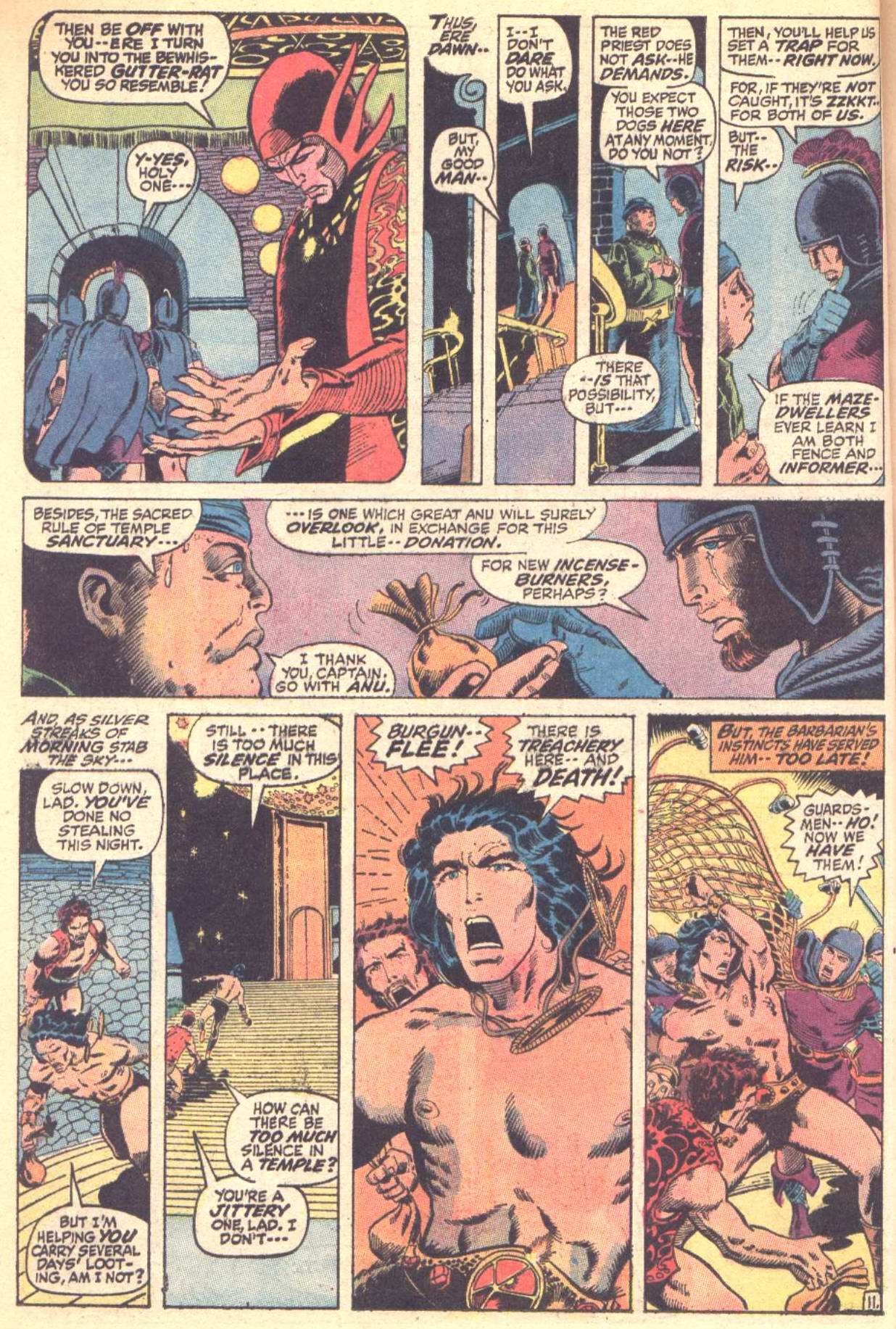 Conan the Barbarian (1970) Issue #10 #22 - English 12
