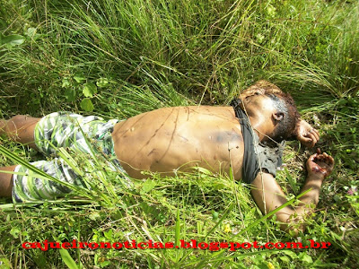 Ibicaraí: Jovem é cruelmente assassinado e encontrado morto no Cajueiro. Atenção: Imagens fortes!