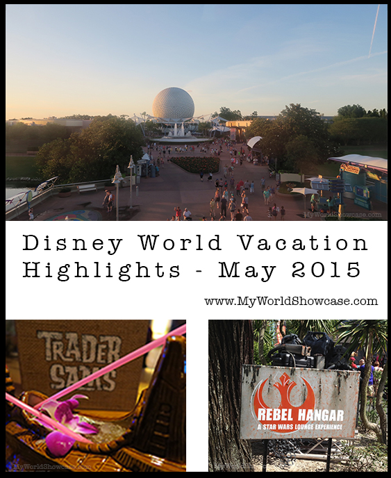 Disney World Vacation Highlights - May 2015