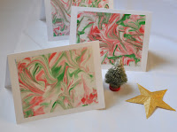 http://vickismithartwithkids.blogspot.com/2015/12/shaving-cream-marbled-paper-for-holidays.html