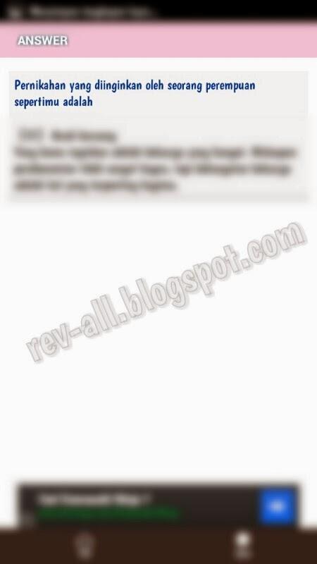 Contoh arti jawaban aplikasi Android - Test Psikologi Cinta (rev-all.blogspot.com)