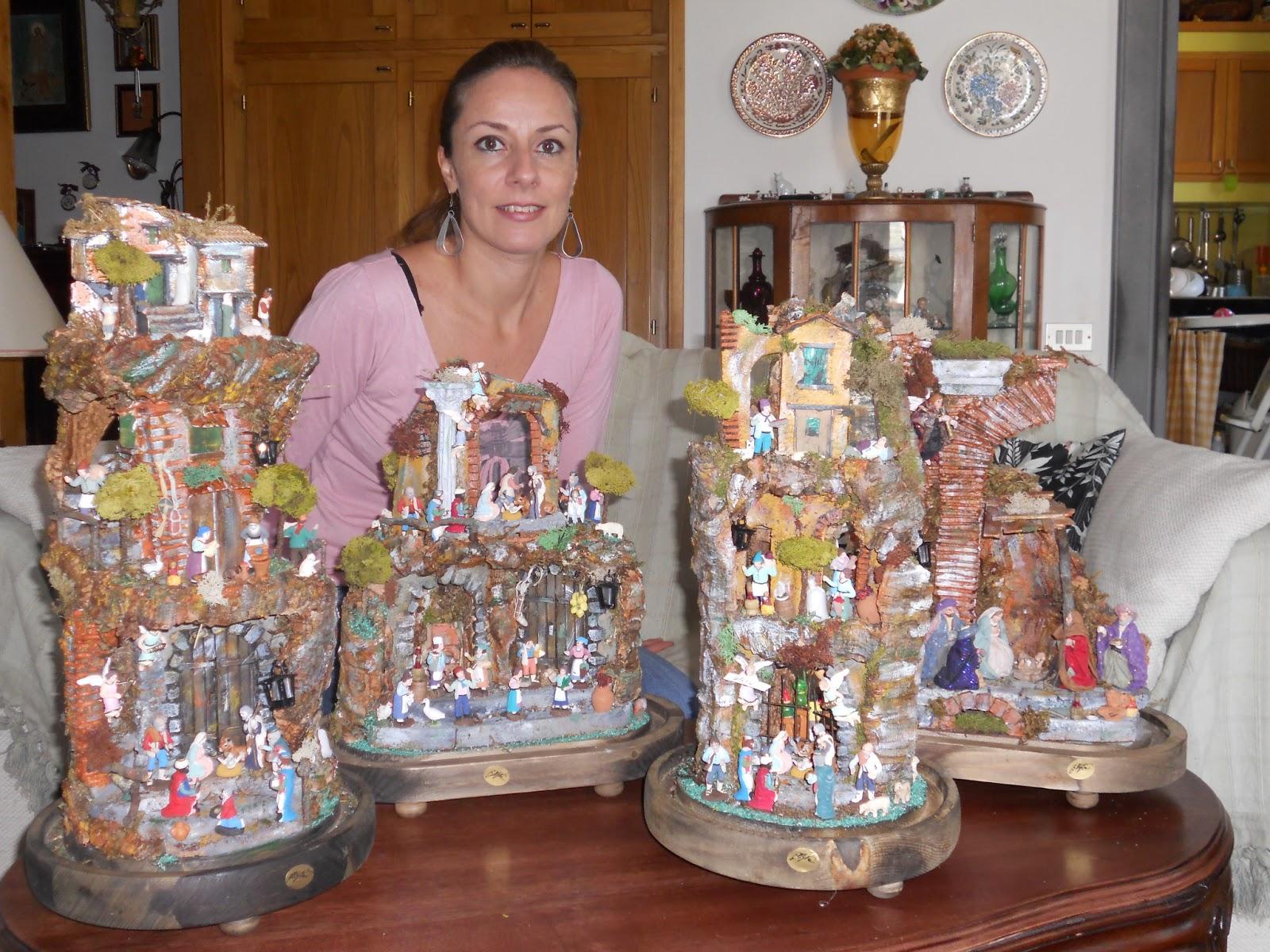 Ben noto Shabby Chic & La Maison de la Lavande: I miei Presepi/Nativity Scenes DO11