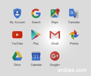 Produk Google - Gmail : Cara Mendaftar / Membuat Akun Email Baru