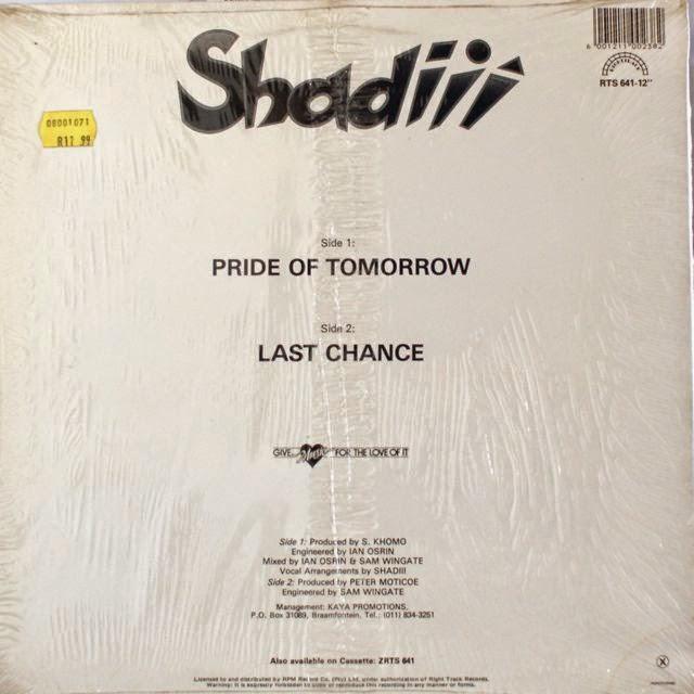 Shadiii Pride Of Tomorrow Last Chance