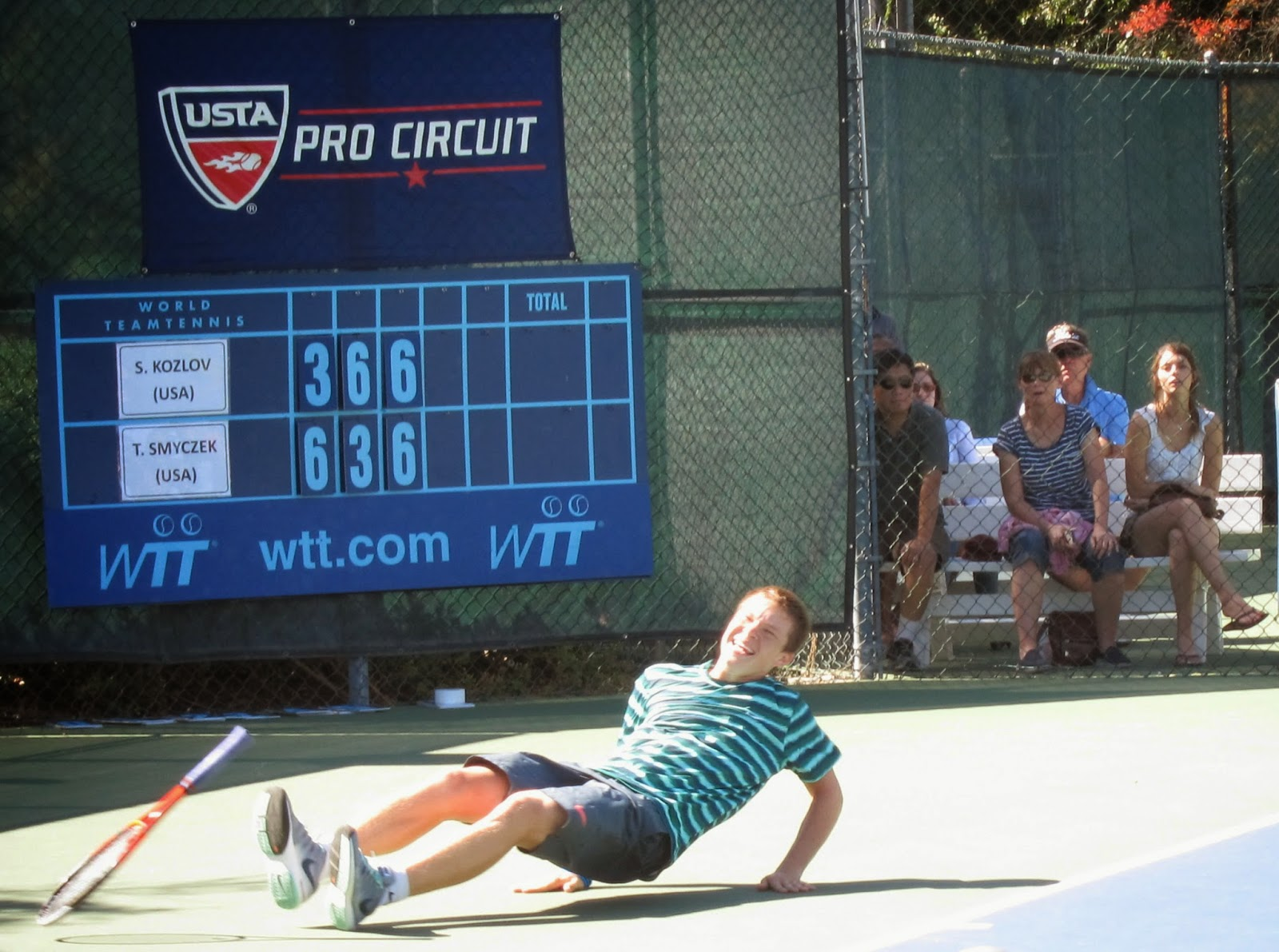 Kozlov, 16, escapes again to reach Sacramento final