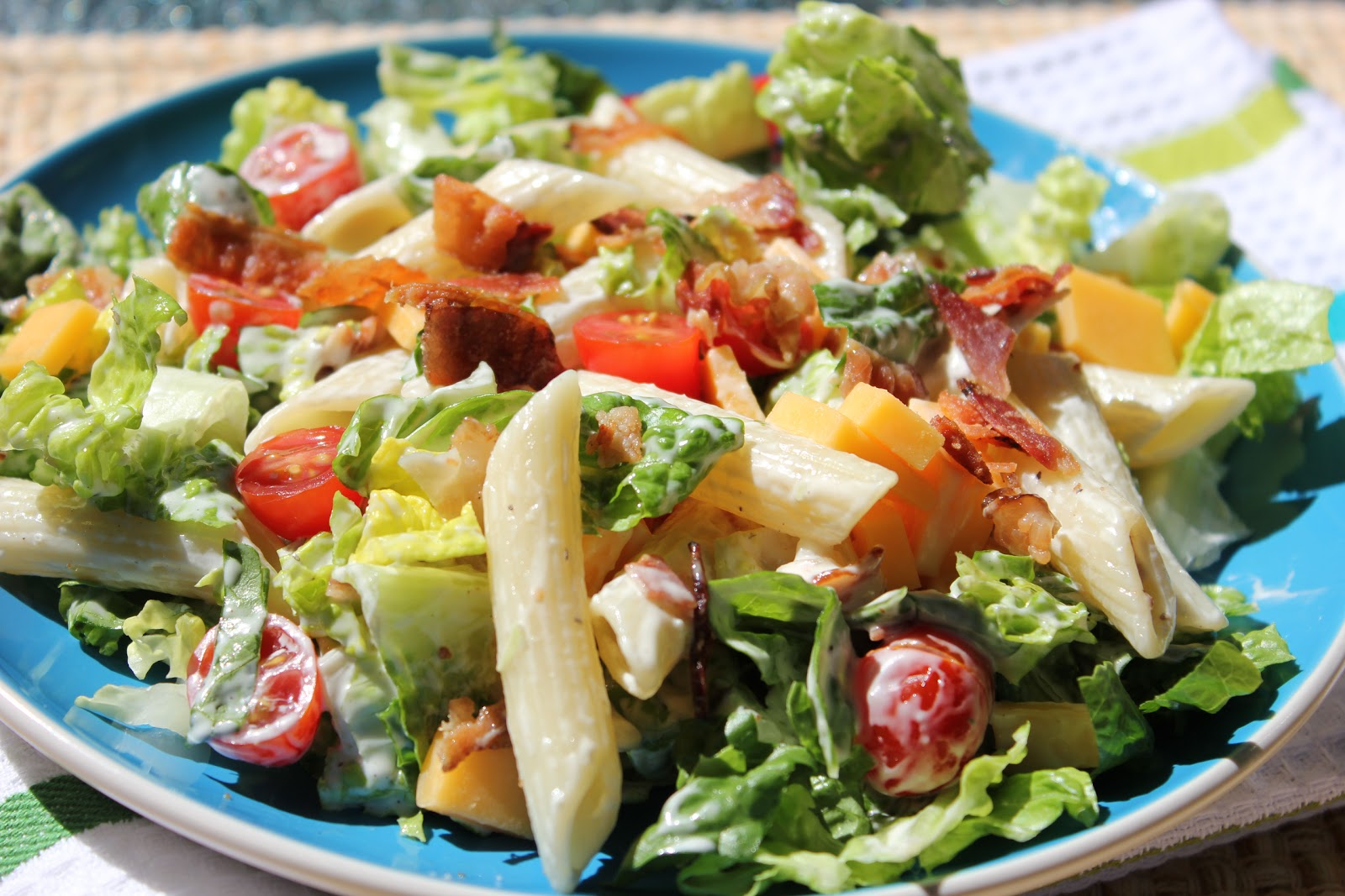 BLT Salad Recipe — Dishmaps