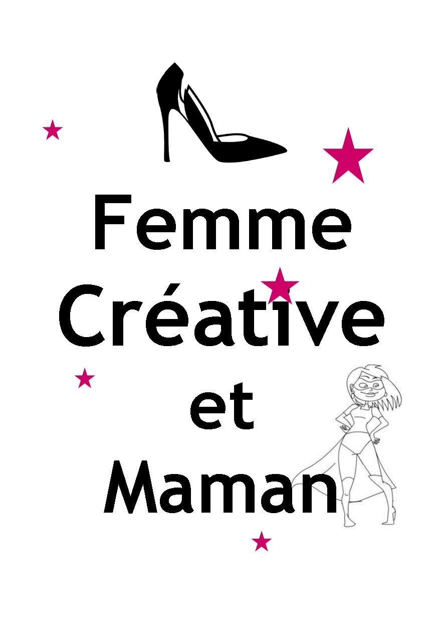 Femme créative et maman