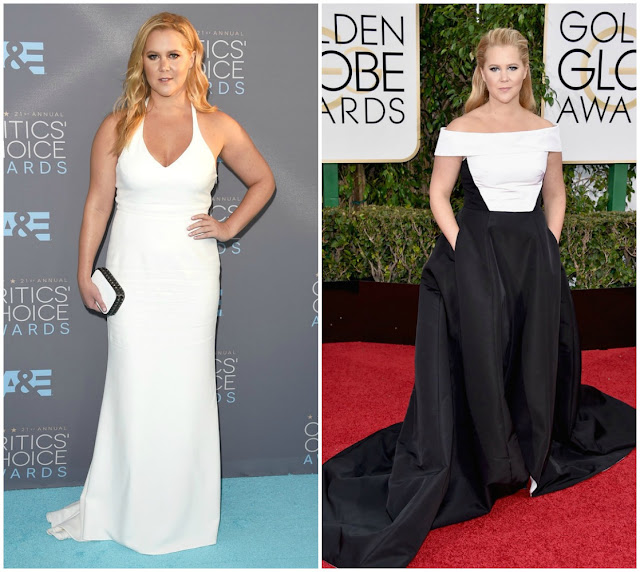 Amy Schumer, Critics Choice Awards, Golden Globe Awards, red carpet