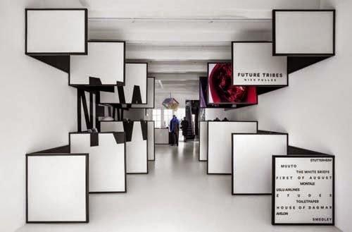 Retail Store Interior Design Magazine Frame In Amsterdam