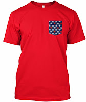 4 July Patriotic Pocket Tank
